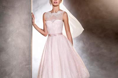 Entdecken Sie 27 farbige Brautkleider 2017 für einen originellen ...