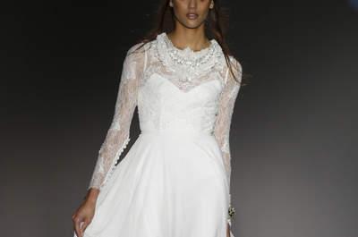 Свадебные платья Jesús Peiró 2016: невероятные детали