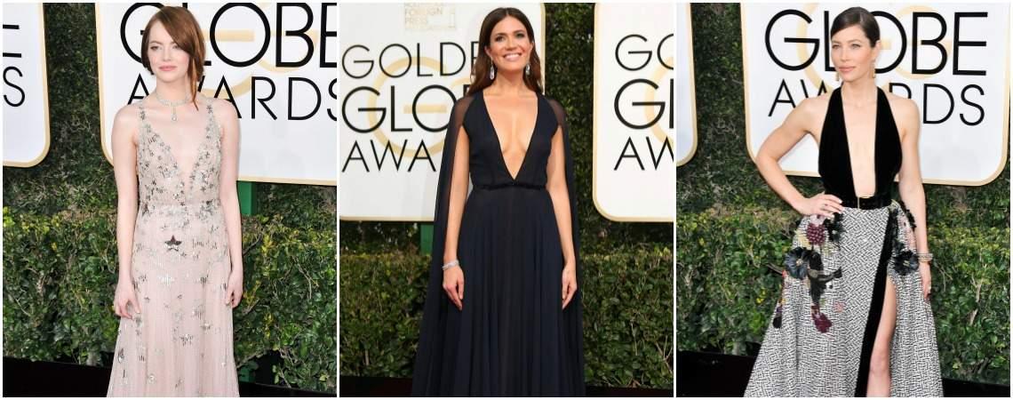 Globos de Oro 2017: 25 imágenes con los vestidos de fiesta que sorprendieron en la alfombra roja