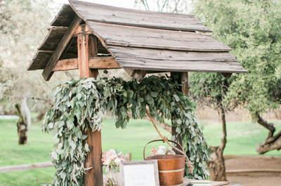 Decoración de boda rústica 2017: ¡Un estilo innovador!