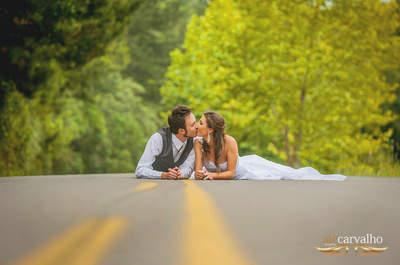 Ensaio Trash the Dress: as fotos mais descontraídas com o vestido de noiva!