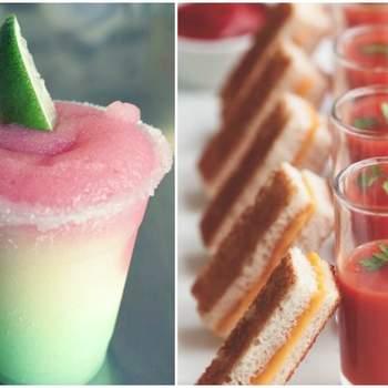 Comidas e bebidas perfeitas para um casamento nos meses de calor!