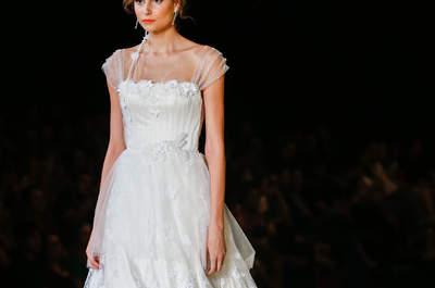 Os 100 vestidos de noiva mais LINDOS de 2017. Você não pode perder!