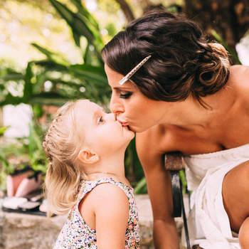 31 besos que el fotógrafo de tu boda debe capturar en el gran día