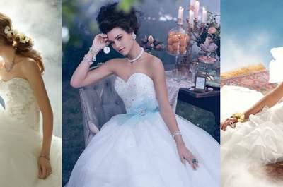 Disfruta de los vestidos de novia más originales de Alfred Angelo inspirados en los cuentos de Disney