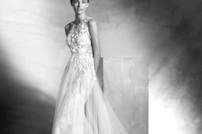 Os vestidos de noiva mais românticos 2017: o mais difícil será escolher o seu preferido