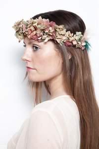 Coronas de flores para novia 2016