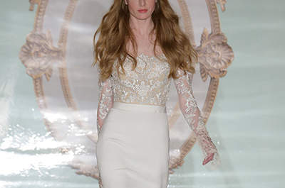 Vestidos de noiva Reem Acra 2015: New York Bridal Week