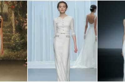 40 vestidos de novia para bajitas en el 2016: cómo conseguir el vestido perfecto