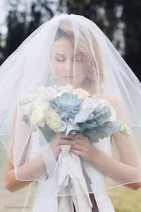 Свадебные прически с фатой 2017