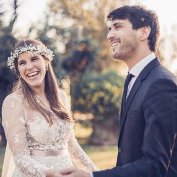 Coroas de flores para noivas 2017. Dê vida e cor ao seu visual com muito estilo!