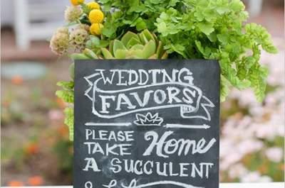 Detalles de boda: los regalos más originales para tus invitados