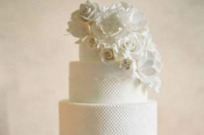 Tartas de boda románticas: el postre más chic