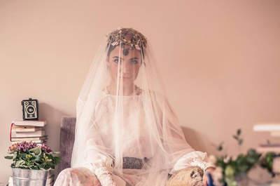 Accesorios y vestidos de novia inspirados en los años 20. ¡Te encantarán!
