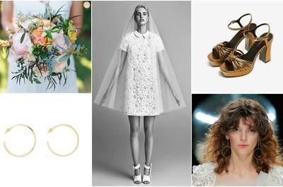 Look della settimana: sposa seventies