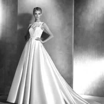 Entdecken Sie die zauberhaften Brautkleider von Pronovias 2016 in der Atelier-Kollektion!