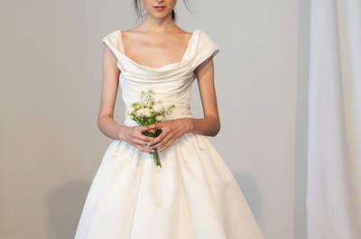 Die Brautkleider 2015 von Marchesa – von der New York Bridal Week