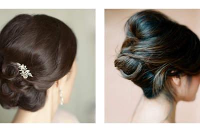 Os melhores penteados para a noiva com rosto oval e redondo