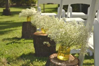 Detalles de madera para la decoración de tu matrimonio, ¡grandes ideas!