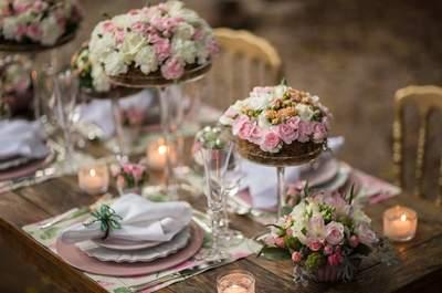 Decore o seu casamento com as cores Pantone 2016: Rosa Quartz e Azul Serenity!