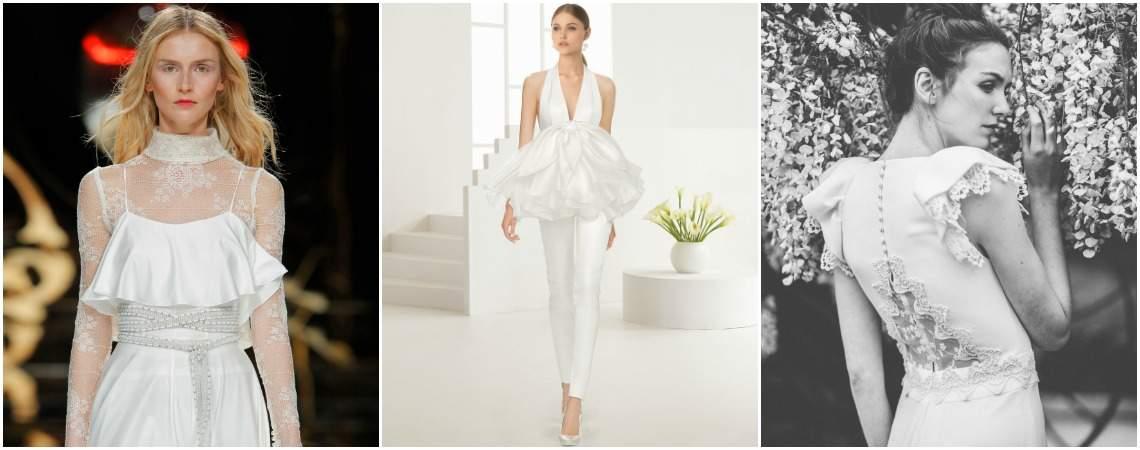 Entdecken Sie die 50 schönsten Brautkleider mit Rüschen 2017! Originell & einfach zauberhaft