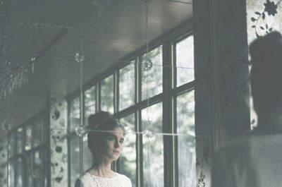 30 vestidos de novia de dos piezas ideales para una boda informal