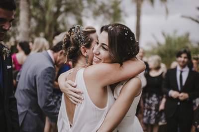 Hermanas y amigas: el mejor tesoro que puede tener una novia