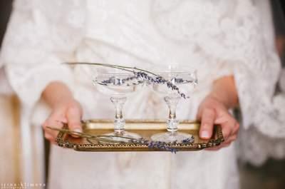 Истина в вине: идеи для подачи напитков на свадьбе!