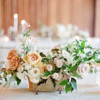 Decoración de matrimonio 2016: 30 centros de mesa absolutamente románticos