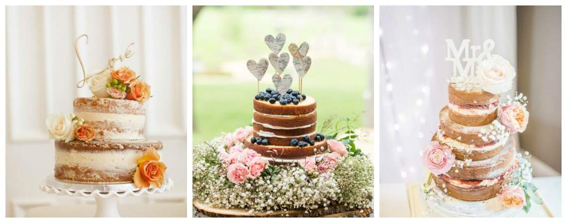 The Naked Cake – A wedding trend that is here to stay!