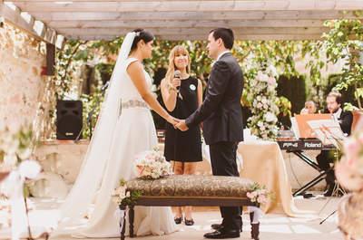 Cómo organizar un matrimonio civil mucho más significativo y vistoso