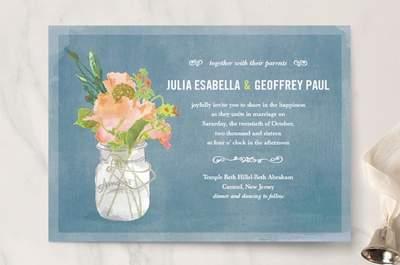 Aquí encontrarás las invitaciones de boda con los diseños más originales