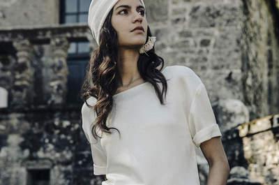 Vestidos de novia Laure de Sagazan 2017: Un toque vintage para tu look