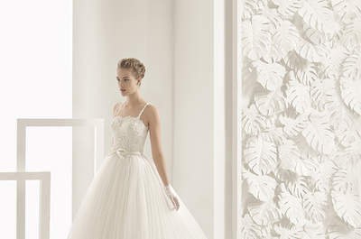 Vestidos de noiva com decote quadrado para 2017: um clássico que nunca passa de moda!