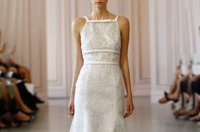 Коллекция свадебных платьев Óscar de la Renta 2016: кокетливые и женственные