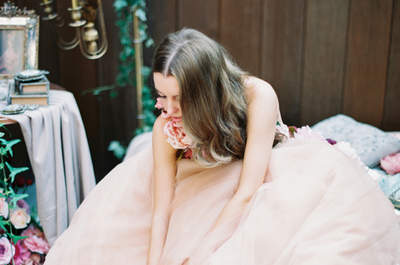Цветные свадебные платья - модный тренд 2016 года!