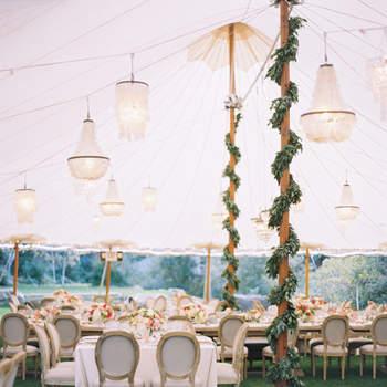 Adornos e guirlandas de flores para decorar o seu casamento: ideias inovadoras e surpreendentes!