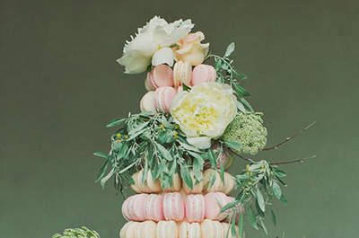 Beautiful and Orginal Wedding Macarons