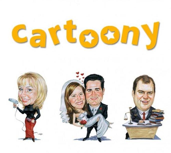 Lustig und einzigartig – Karikaturen vom Brautpaar – Foto: mein cartoony via facebook