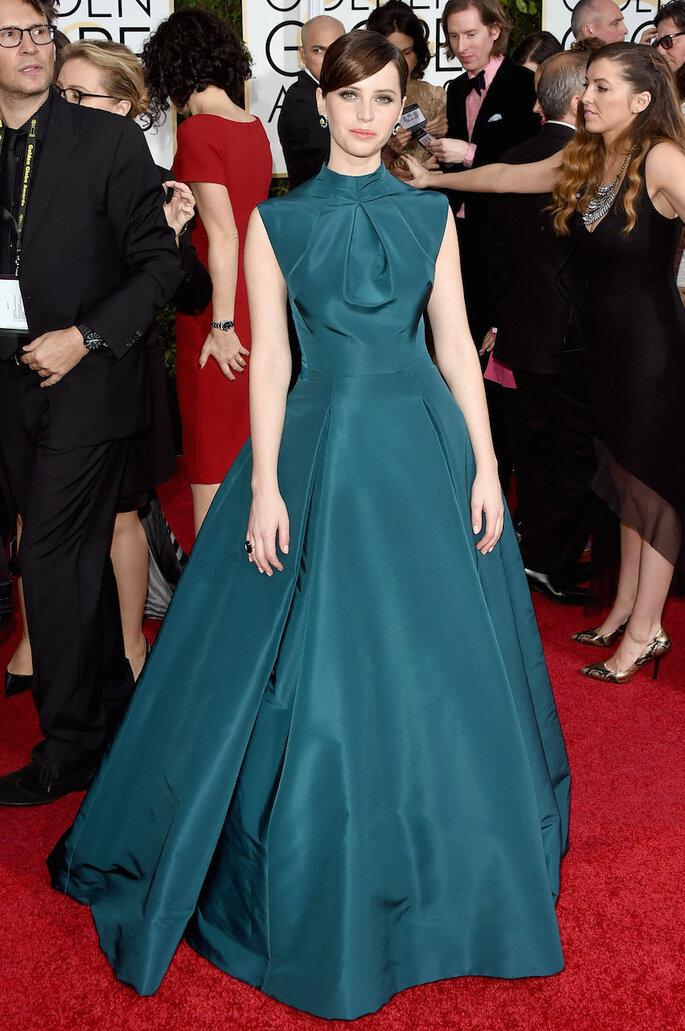 Las mejor vestidas de los Golden Globe Awards 2015 - Christian Dior