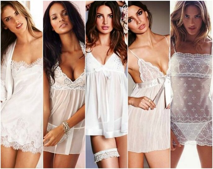 Lencería para novias de Victoria's Secret 2012. Foto: Victoria's Secret