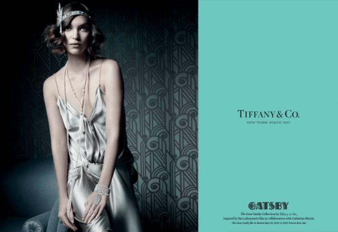 """Joyas Tiffany estilo retro inspiradas en la película """"The Great Gatsby"""" - Foto Tiffany"""