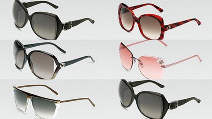 Lentes de sol marca Gucci. Foto Gucci.com