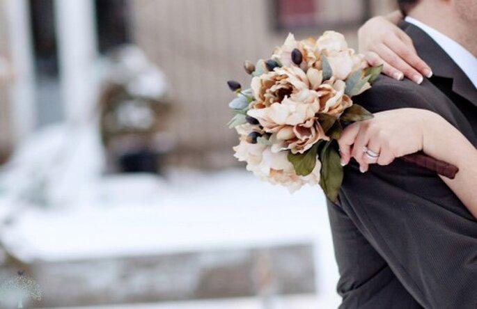 Ramo de novia para boda en invierno. Jen Lynne