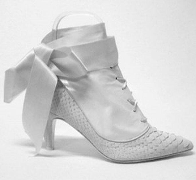 Botines de novia de Franjul