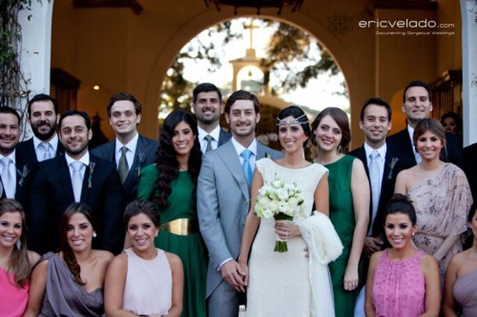 Tips para organizar a la familia durante la sesión de fotos de boda - Foto Eric Velado