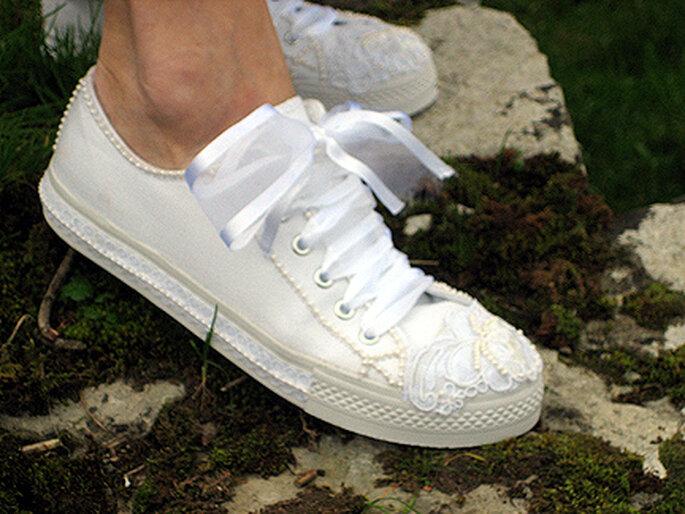 Sapatos de Ténis para Noivas  - http://weddingtennies.homestead.com