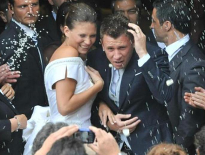 Boda de Antonio Cassano y Carolina Marcialis