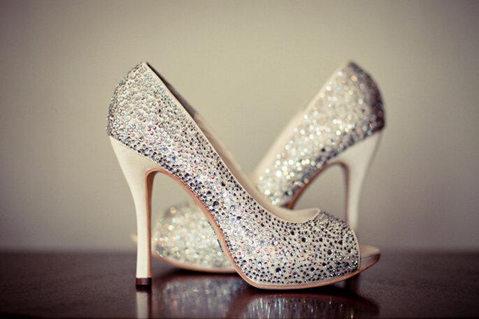 Presume tus increíbles zapatos de novia - Foto Ahmetze