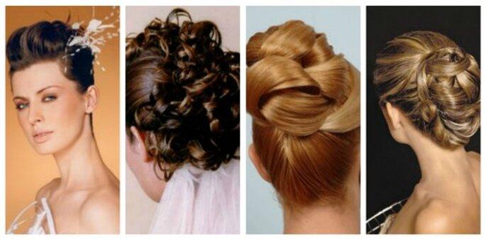 Opciones de cabello recogido